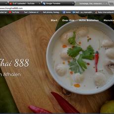 Web Design - Thai Restaurant