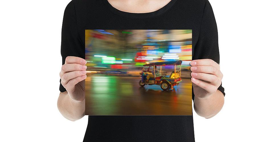 Photo paper poster: Tuk Tuk Thailand