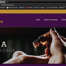 Web Design - Spa & Massage