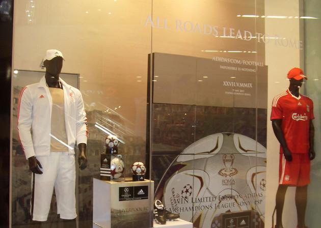 Window Display - Sportswear Company