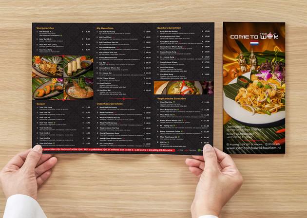 Menu Brochure - Thai Restaurant