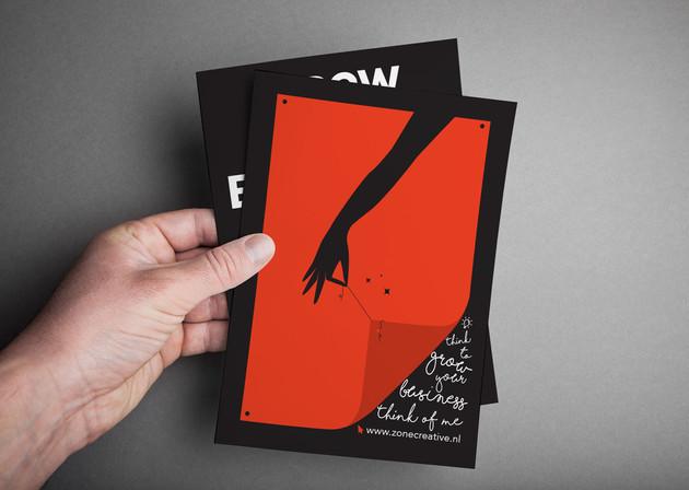 Leaflet - Promote Service