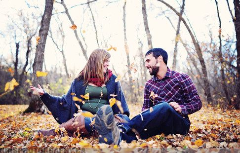 Vancouver Fall Engagement Session