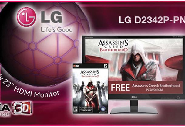 LG TV promo