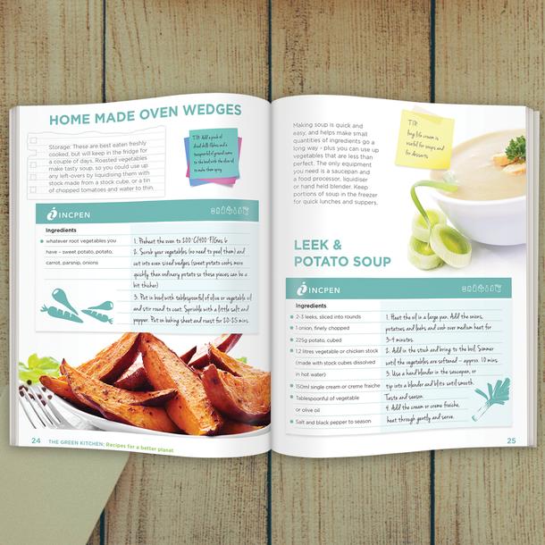 Incpen recipe book
