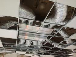 clim faux plafond