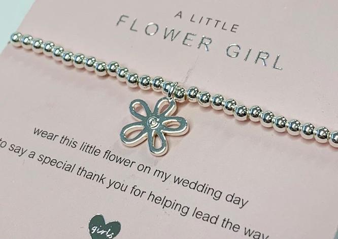 Flowergirl bracelet