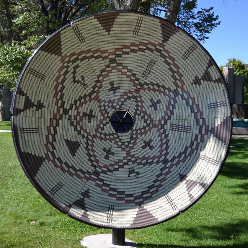 Jicarilla Apache Star Basket