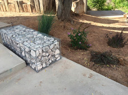 plants with gabions