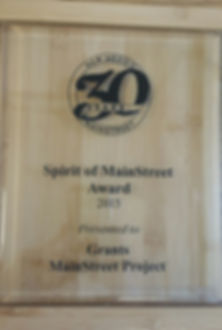 Spirit of MainStreet Award