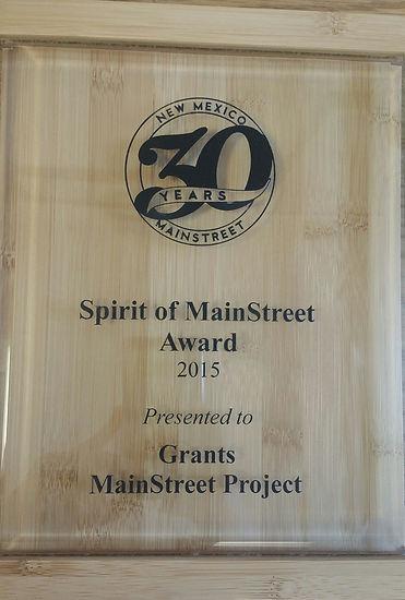 Spirit of MainStreet Award