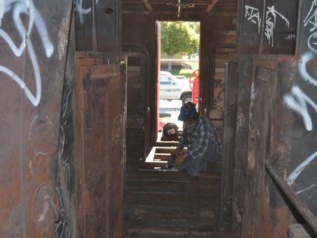 Grants Caboose Restoration  Community