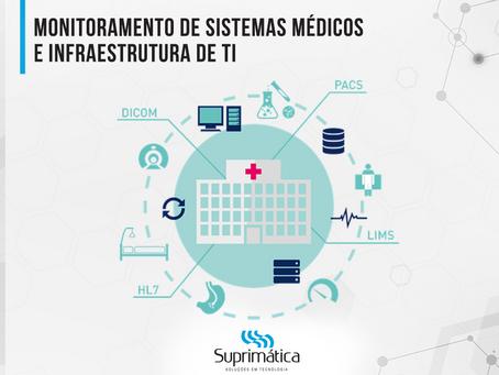 Monitoramento de Sistemas Médicos e Infraestrutura de TI