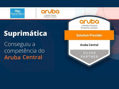 A Suprimática Soluções em Tecnologia conquista certificação Aruba Central