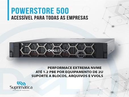 PowerStore 500: Acessível para todos os clientes