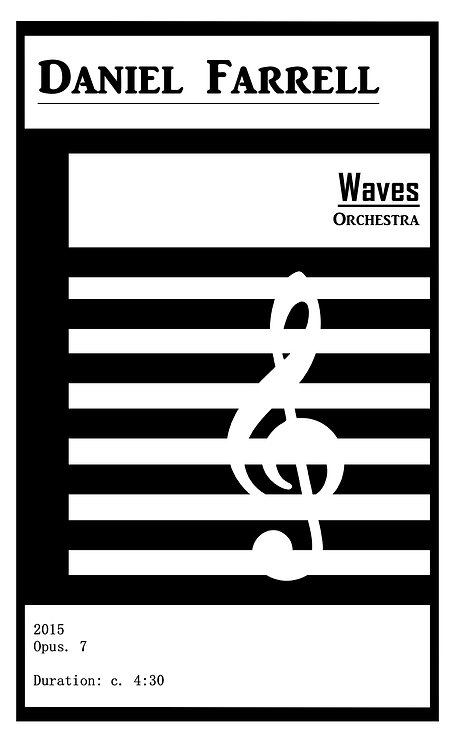Waves - Orchestra (Op. 7)