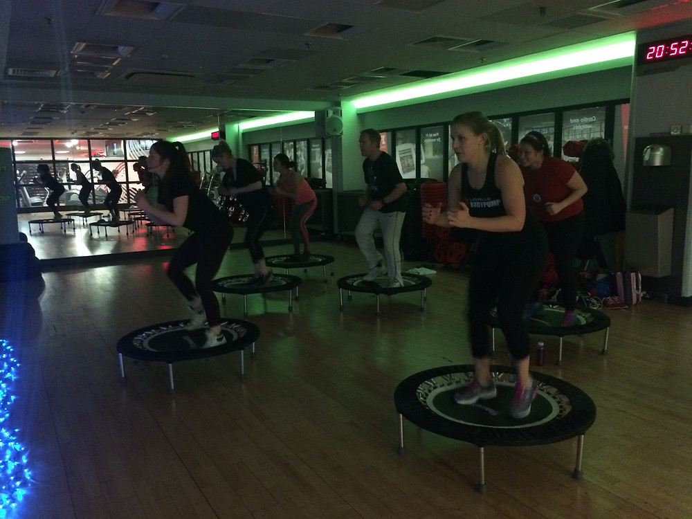 Rebounce fitness London Clapham dance