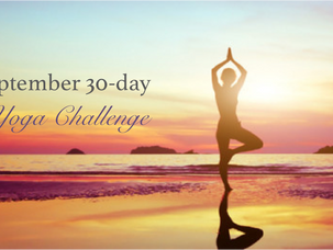 September: 30-day yoga challenge