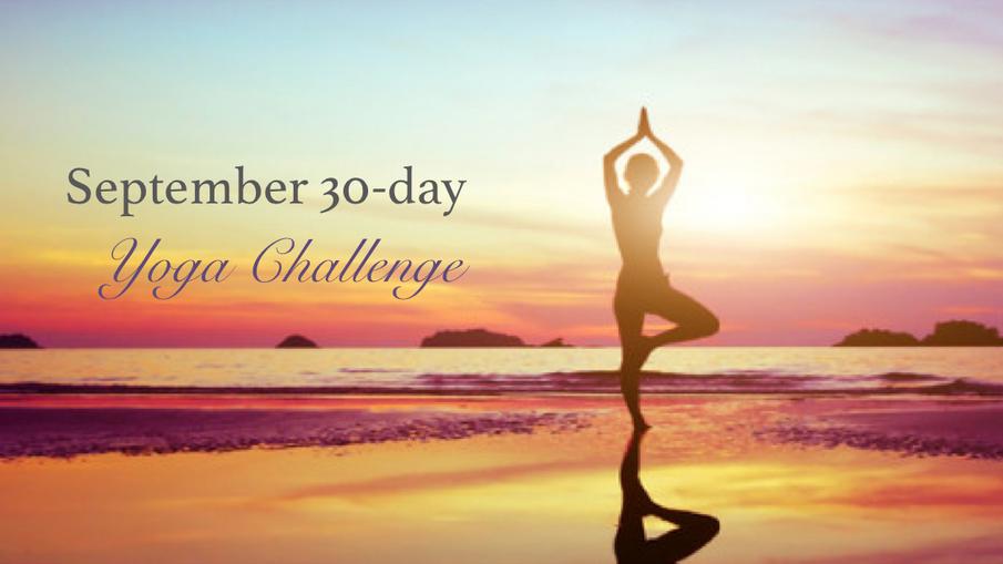 September: 30-day yoga challenge