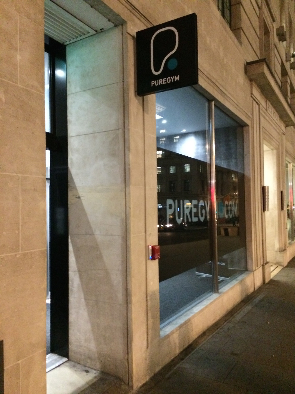 Pure gym, Piccadilly, London, fitness, health, review