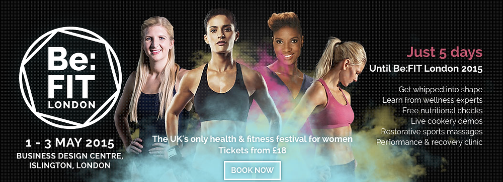 Be:Fit London, fun, health, fitness festival
