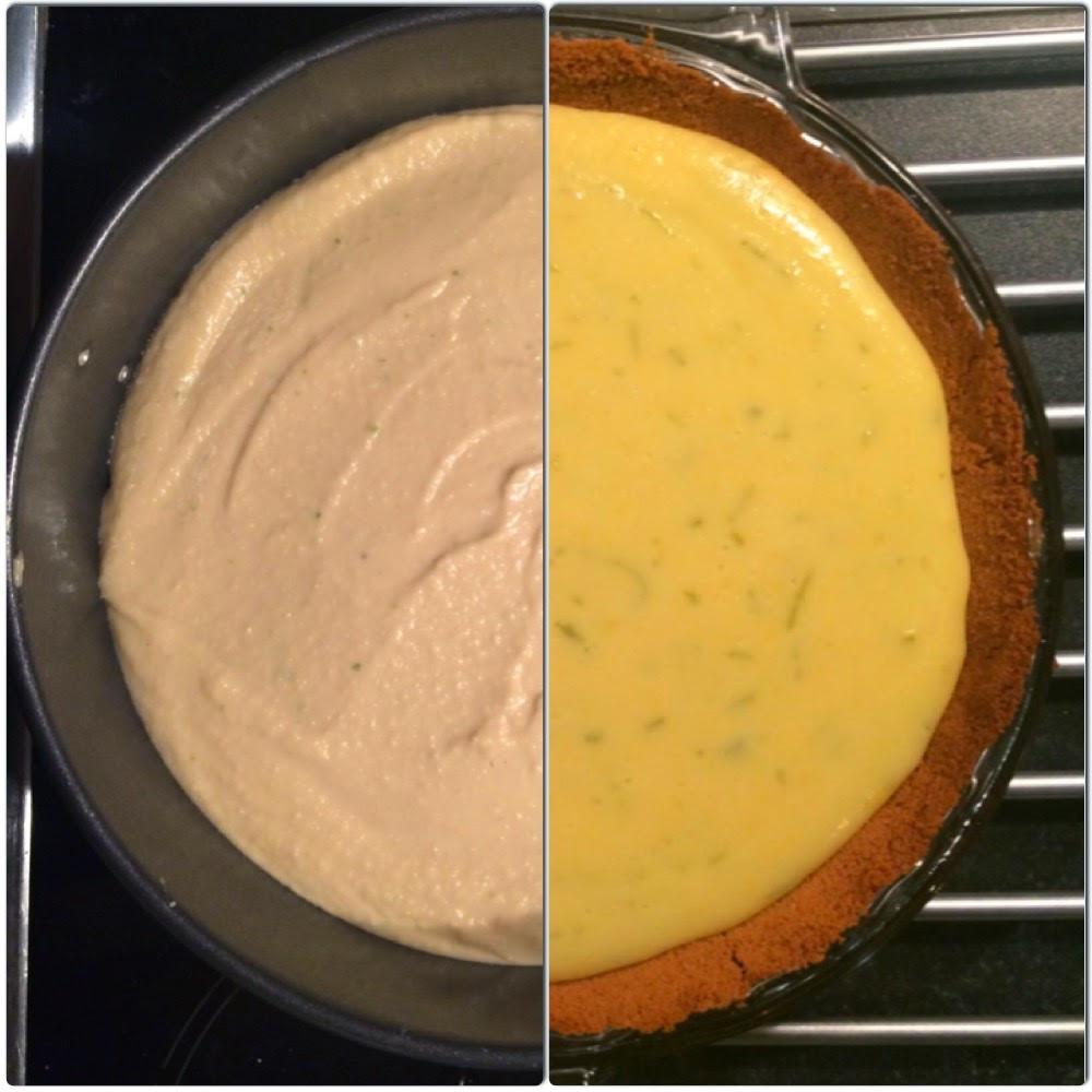 key lime pie, raw food, raw key lime pie, baking