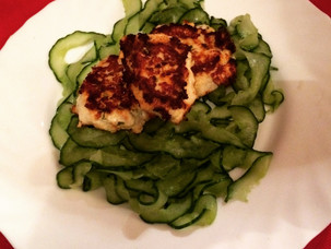 Healthy home cooking: Asian turkey cakes