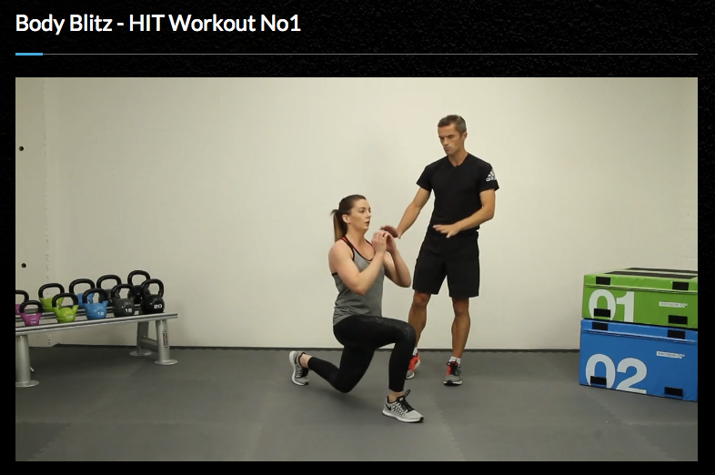 Matt Roberts, Body Network, workout, fitness, at-home workout