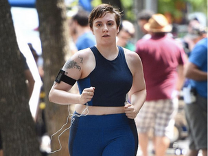 Lena Dunham's truths about exercise