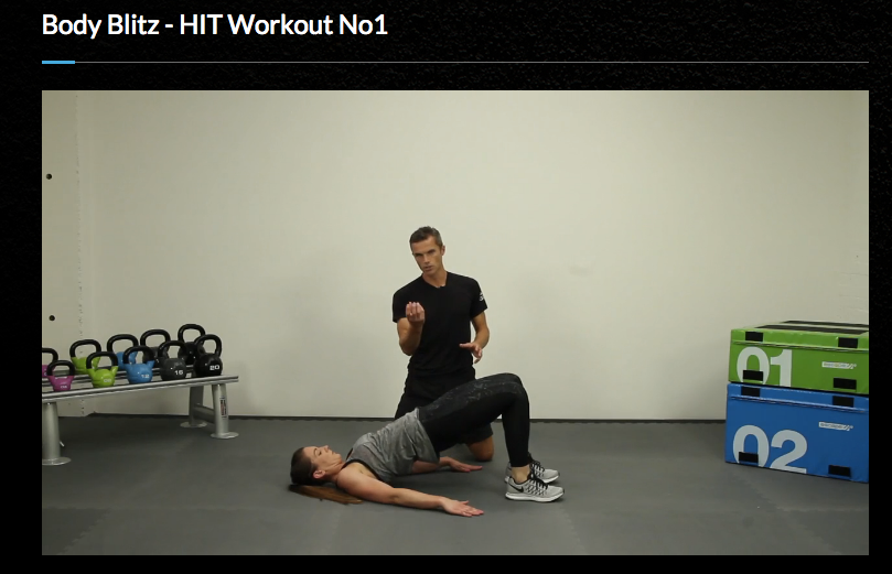 Matt Roberts, Body Network, at-home workout, fitness,