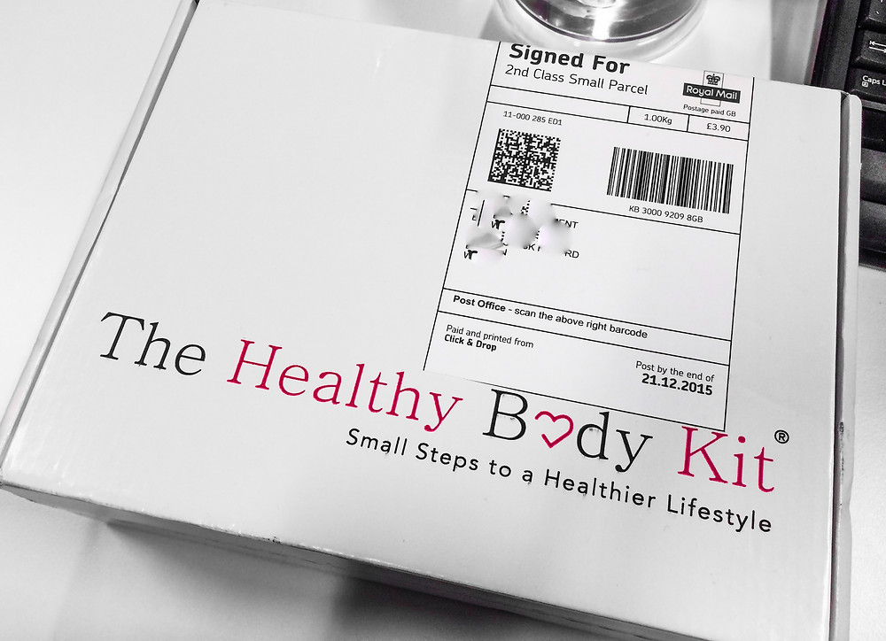Healthy Body Kit, sample box, healthy living