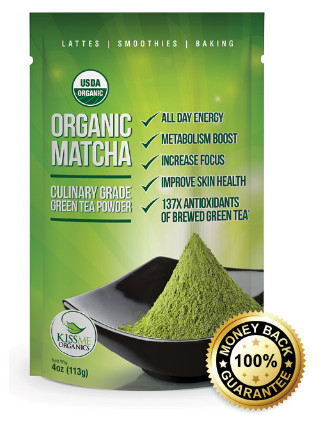 KissMe Organic matcha powder, SNIPPET_HTML_V2.TXT