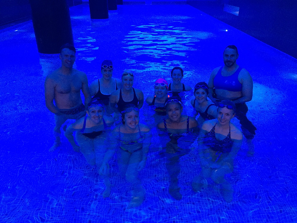 swimming, FFSwimSquad, fitness, group photo