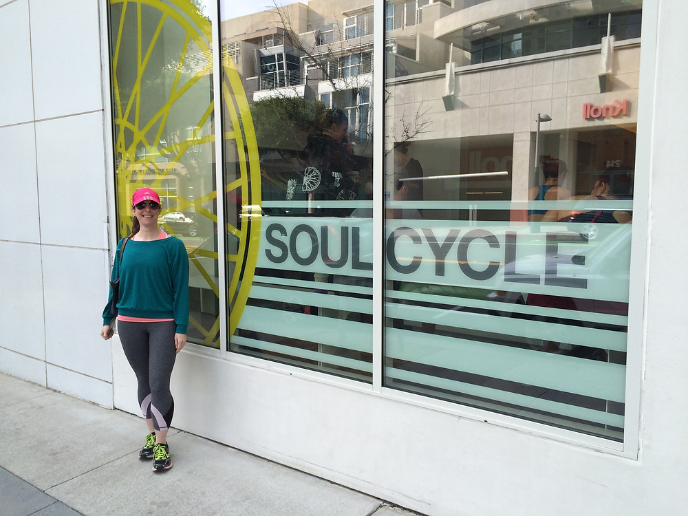 soulcycle, santa monica, california, spin, fitness