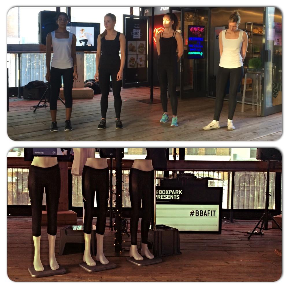 BoomBoom Athletica, BoxPark London, Shoreditch, launch, fitness fashion