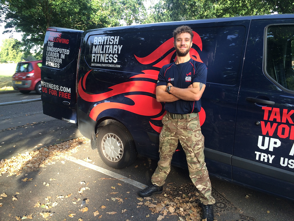 BMF, British Military Fitness, Fitness, London