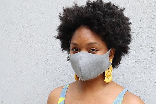 Grey Reusable Face Mask