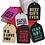 Thumbnail: Holiday Gift Tags [Black] 6-pack
