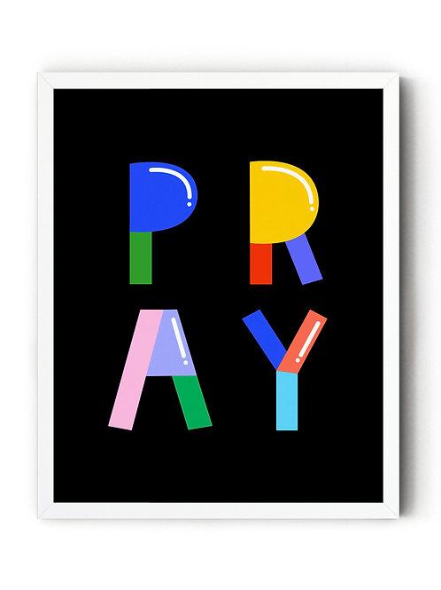 Pray [DIGITAL PRINT]