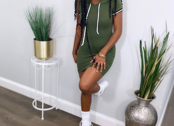 Play off game hoodie Dress
