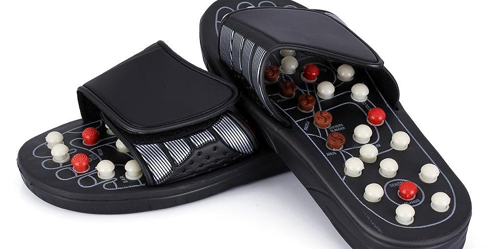 Foot Therapy Massager - Massage Slippers/Sandals for Pain Relief