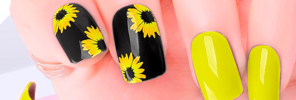 Sunflower Nail Wraps