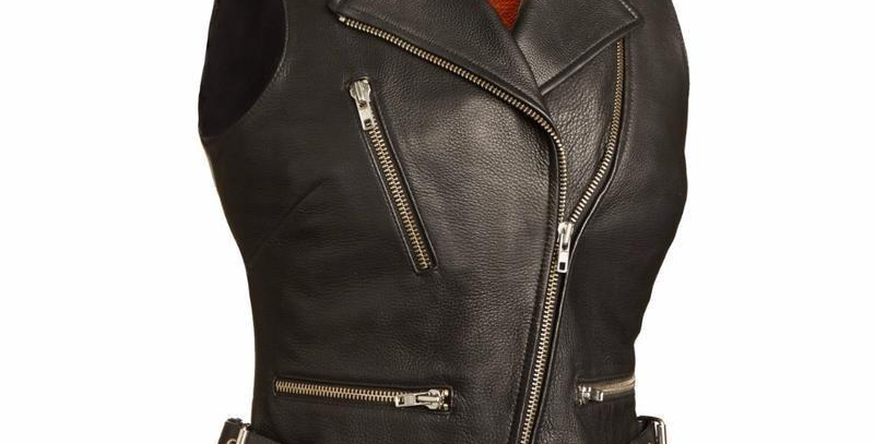MKL - Goddess Women's Motorcycle Leather Vest