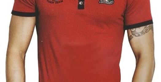 Mens Hosiery Solid Men Tshirts (Red, M)