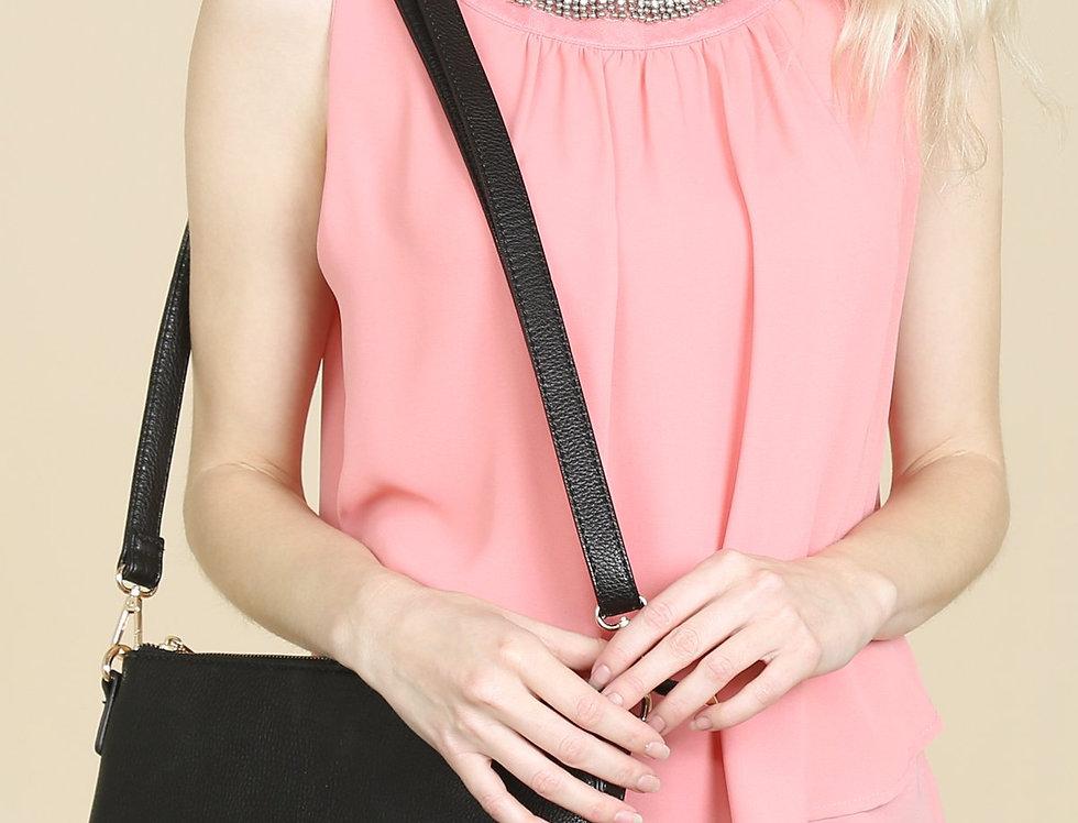 8623 - Crossbody Wristlet Bag