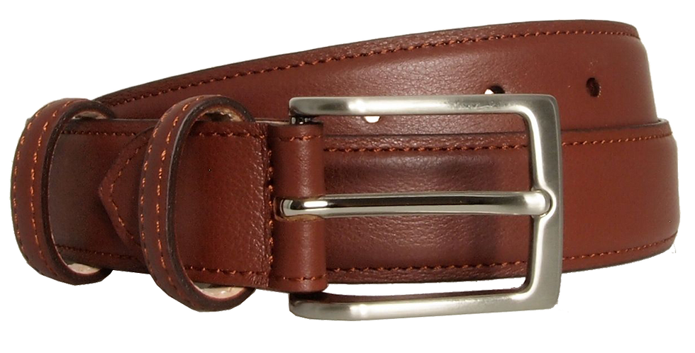 30 Mm Sartorial Fine-Grained Leather Belt Sienna