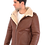 Thumbnail: Davis Men's Natural Shearling Real Fur Leather Coat