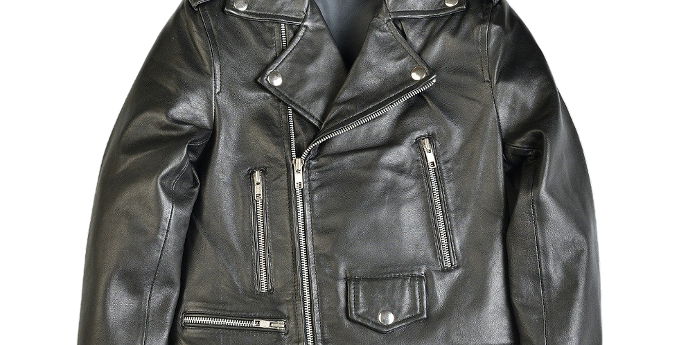 Girls Michee Moto Leather Jacket