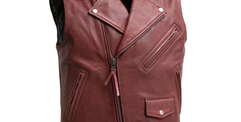 MKL - Roller Men's Motorcycle Leather Vest