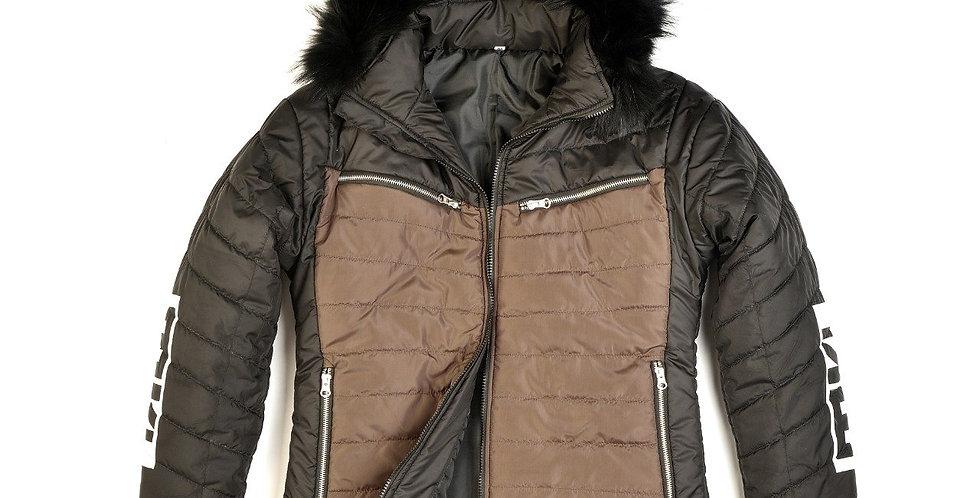 Carty Snow Ski Puffer Waterproof Jacket Hoodie